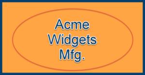 acme widgets mfg logl